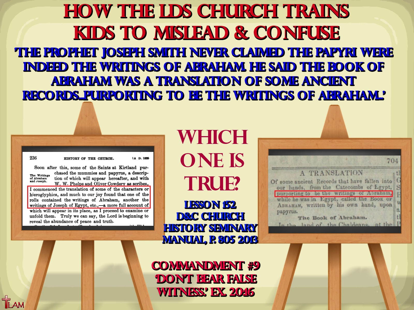 How the LDS Church Trains Kids to Mislead and Confuse | Life